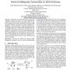 Feedback Consolidation Algorithms for ABR Point-to-Multipoint Connections in ATM Networks
