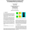 Field programmable port extender (FPX) for distributed routing and queuing
