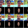 Performance Driven Facial Animation by Appearance Based Tracking
