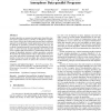 Structure-driven optimizations for amorphous data-parallel programs