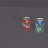 Finding objects in a 3D environment by combining distance measurement and color indexing