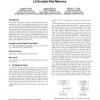 Fine-grain dynamic instruction placement for L0 scratch-pad memory