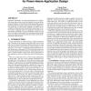 Fine-grained energy profiling for power-aware application design