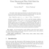 Finite Element Approximation of a Three Dimensional Phase Field Model for Void Electromigration