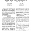 Finite Rate Feedback for Spatially and Temporally Correlated MISO Channels in the Presence of Estimation Errors and Feedback Del