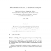 Finiteness Conditions for Strictness Analysis
