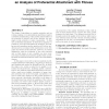 First to market is not everything: an analysis of preferential attachment with fitness