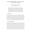 Fitting Rectangular Signals to Time Series Data by Metaheuristic Algorithms