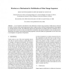 Fixation as a Mechanism for Stabilization of Short Image Sequences