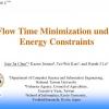 Flow Time Minimization under Energy Constraints
