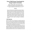Force field energy functionals for image feature extraction