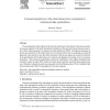Forecast sensitivity to the observation error covariance in variational data assimilation