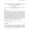 Forecasting the success of telecommunication services in the presence of network effects