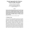 Formal Approach for the Coherence Control of SMIL Documents