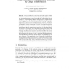 Formal Modeling of Communication Protocols by Graph Transformation