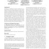 Formal models for expert finding in enterprise corpora