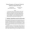 Formal Properties of Constraint Calculi for Qualitative Spatial Reasoning