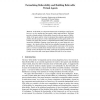 Formalising Believability and Building Believable Virtual Agents