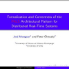 Formalization and Correctness of the PALS Architectural Pattern for Distributed Real-Time Systems