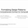 Formalizing Design Patterns