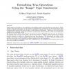 """Formalizing Type Operations Using the """"Image"""" Type Constructor"""