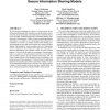 Foundations for group-centric secure information sharing models