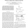 Frame-level data reuse for motion-compensated temporal filtering