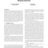 Framework and algorithms for trend analysis in massive temporal data sets