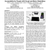Freedom to roam: a study of mobile device adoption and accessibility for people with visual and motor disabilities