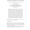 Frequency Domain Linear Prediction for QMF Sub-bands and Applications to Audio Coding