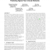 Friend or frenemy?: predicting signed ties in social networks