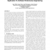 From UML activity diagrams to Stochastic Petri nets: application to software performance engineering