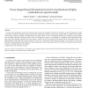 Fuzzy integral based information fusion for classification of highly confusable non-speech sounds
