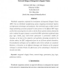 Fuzzy multi-objective optimization for network design of integrated e-supply chains
