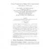 Fuzzy transforms of higher order approximate derivatives: A theorem