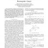 Gain and phase autocalibration for uniform rectangular arrays