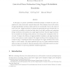Gate-level power estimation using tagged probabilistic simulation