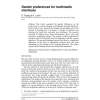 Gender preferences for multimedia interfaces