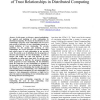 General Methodology for Analysis and Modeling of Trust Relationships in Distributed Computing