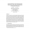 General Patterns for Nonmonotonic Reasoning: From Basic Entailments to Plausible Relations