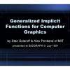 Generalized implicit functions for computer graphics