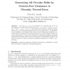 Generating all Circular Shifts by Context-Free Grammars in Chomsky Normal Form