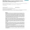 Generating confidence intervals on biological networks