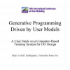 Generative Programming Driven by User Models