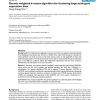 Genetic weighted k-means algorithm for clustering large-scale gene expression data