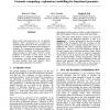 Genomic computing: explanatory modelling for functional genomics