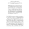 Gesture Recognition Using Quadratic Curves