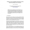 Global, Pervasive and Ubiquitous Information Societies: Engineering Challenges and Social Impact