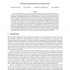 Global Synchronization in Sensornets