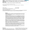 GObar: A Gene Ontology based analysis and visualization tool for gene sets